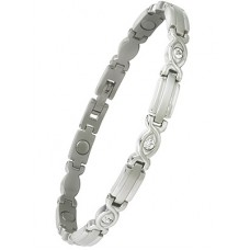 Lady Executive Silver Gem Bracelet - #303