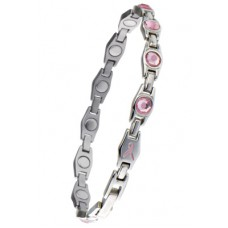 Ladies Pink Gem Bracelet - #310
