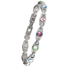Ladies Multicolour Gem Bracelet - #312