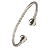 Professional Steel Twist with Silver Balls - #319