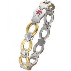 Ladies Medical I.D Bracelet #9113